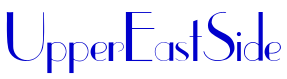UpperEastSide font